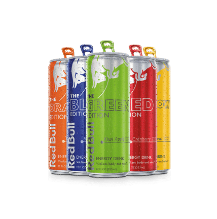 Red Bull VIP 8oz Display Drive